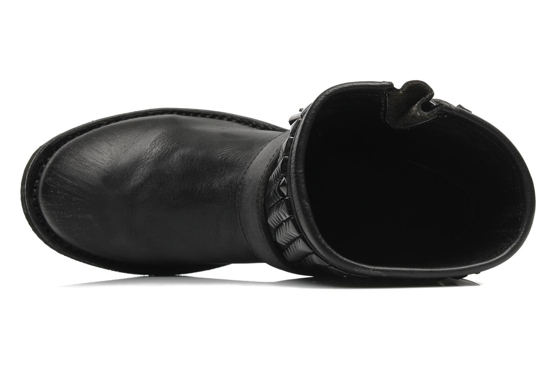 Titan Black Pavonado studs