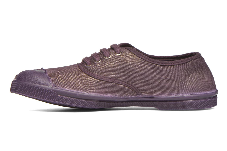 Sneaker Bensimon Tennis Colorsole lila ansicht von vorne