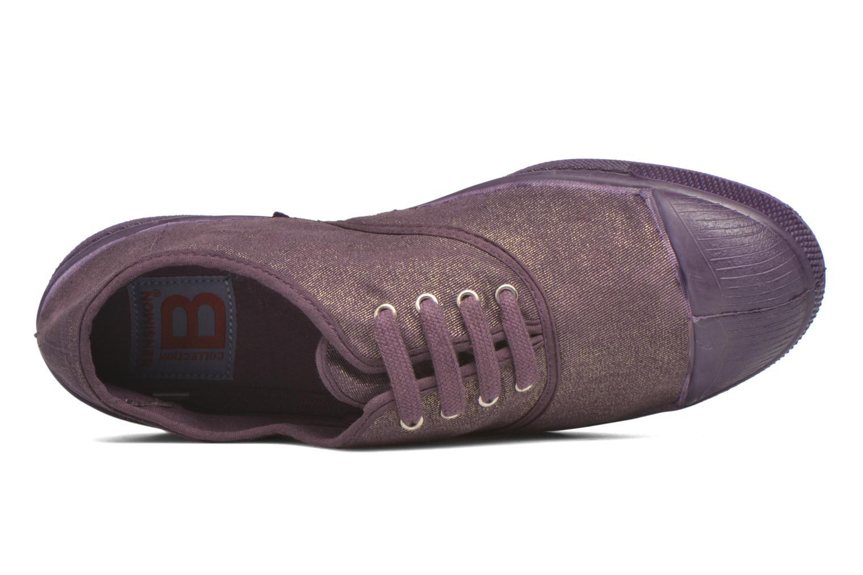 Sneaker Bensimon Tennis Colorsole lila ansicht von links