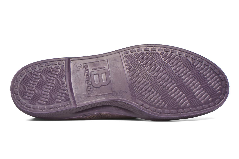 Sneakers Bensimon Tennis Colorsole Viola immagine dall'alto