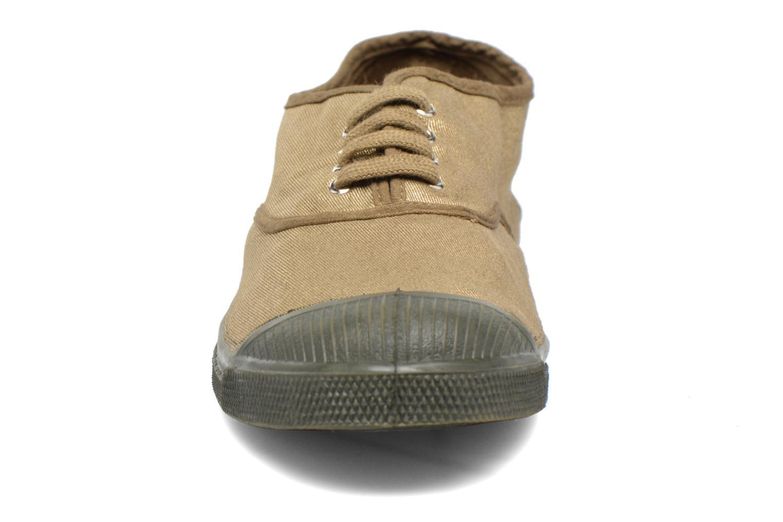 Baskets Bensimon Tennis Colorsole Vert vue portées chaussures