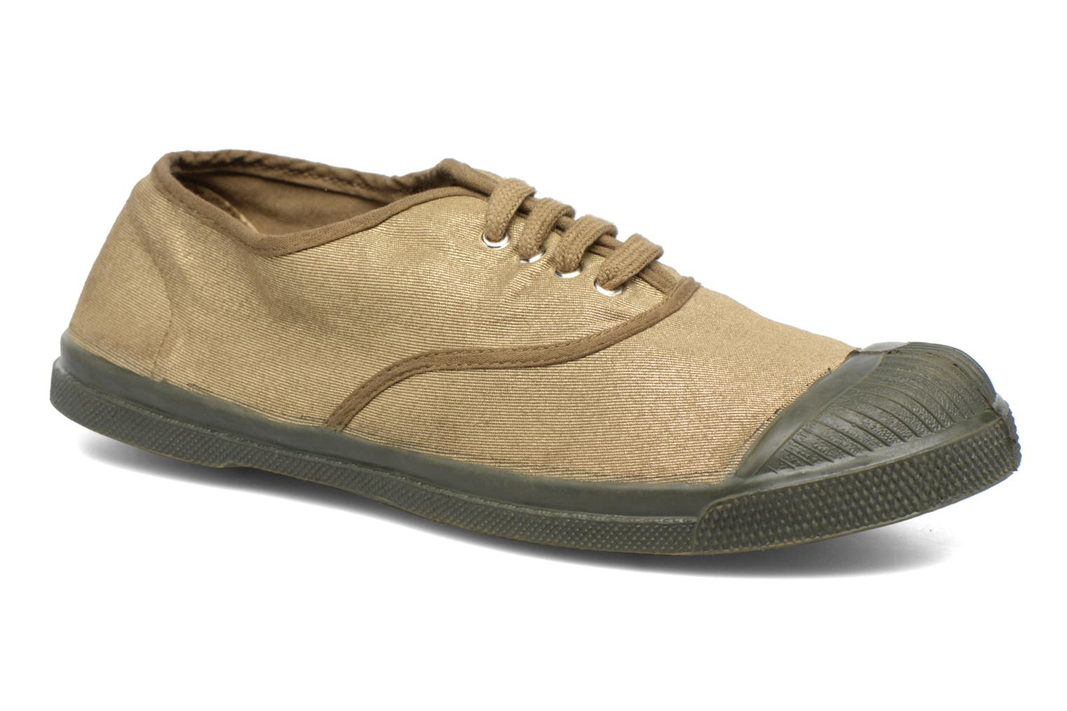 Trainers Bensimon Tennis Colorsole Green detailed view/ Pair view