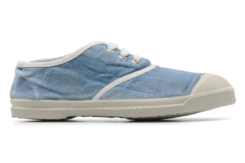 Baskets Bensimon Tennis Washed E Bleu vue derrière