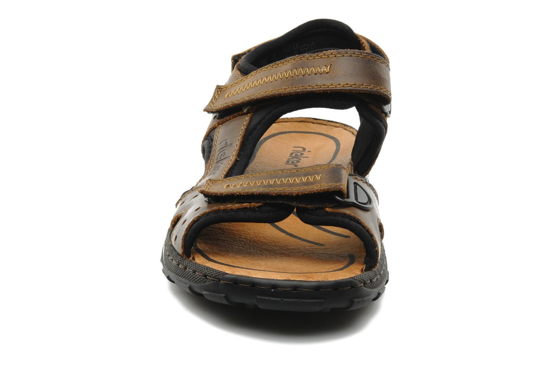 Sandaler Rieker Christian 26061 Brun bild av skorna på