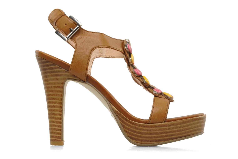 Sandales et nu-pieds Mellow Yellow Labeille Marron vue derrière