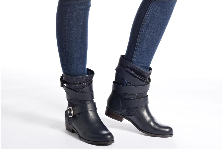 Bottines et boots Mellow Yellow Badilla Bleu vue bas / vue portée sac