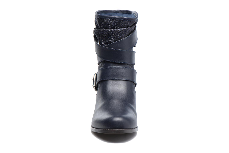 Bottines et boots Mellow Yellow Badilla Bleu vue portées chaussures