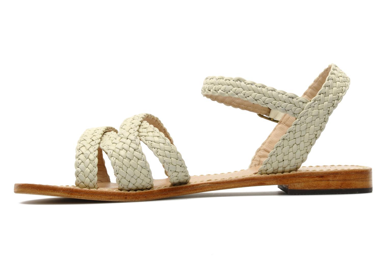 Sandales et nu-pieds Mellow Yellow Langlette Beige vue face