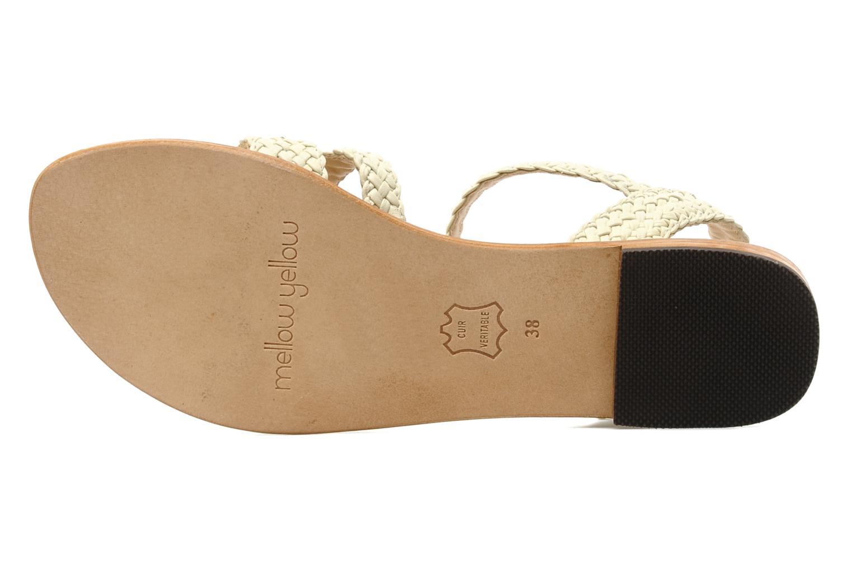 Sandales et nu-pieds Mellow Yellow Langlette Beige vue haut