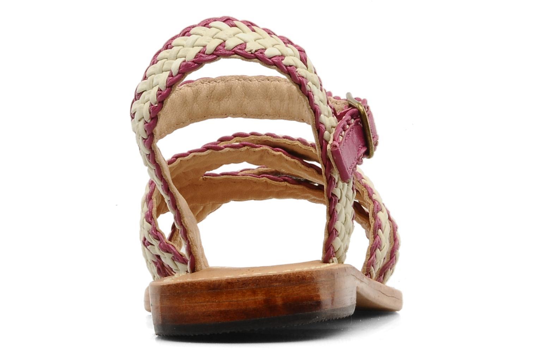 Sandales et nu-pieds Mellow Yellow Langlette Violet vue droite