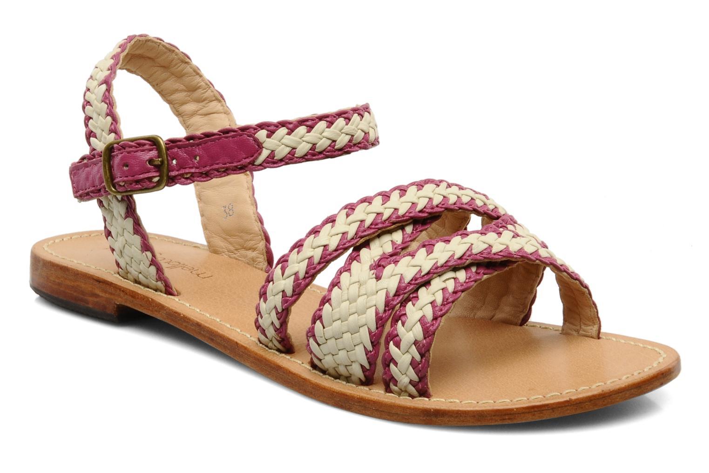Sandales et nu-pieds Mellow Yellow Langlette Violet vue détail/paire