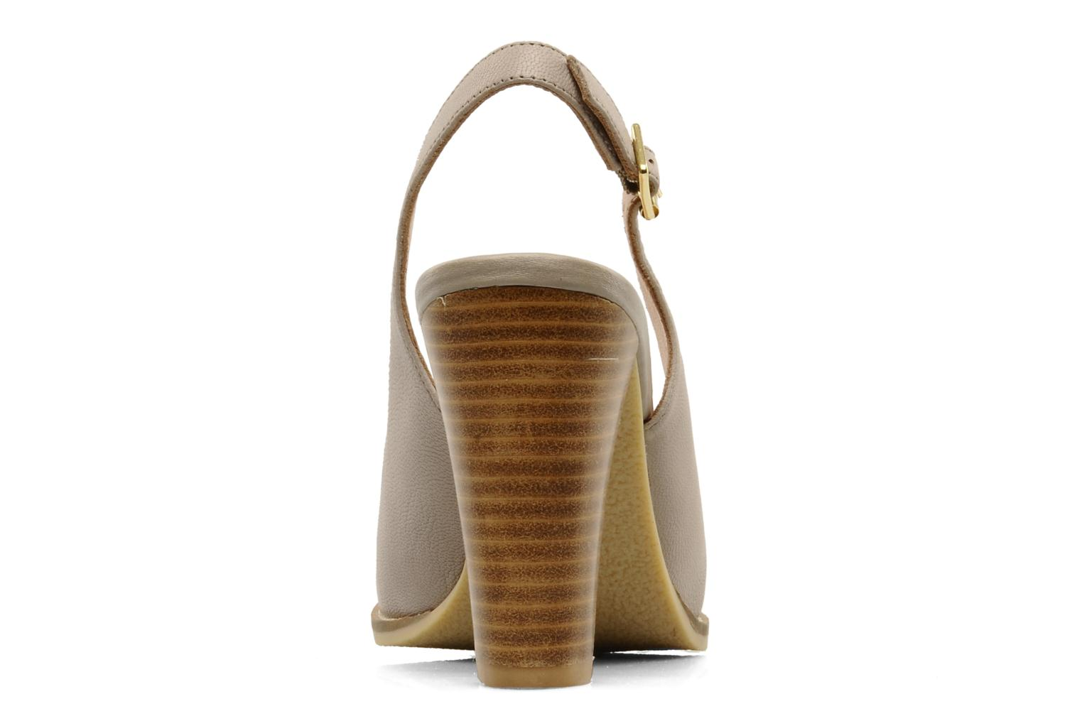 Sandals Mellow Yellow Lastou Beige view from the right