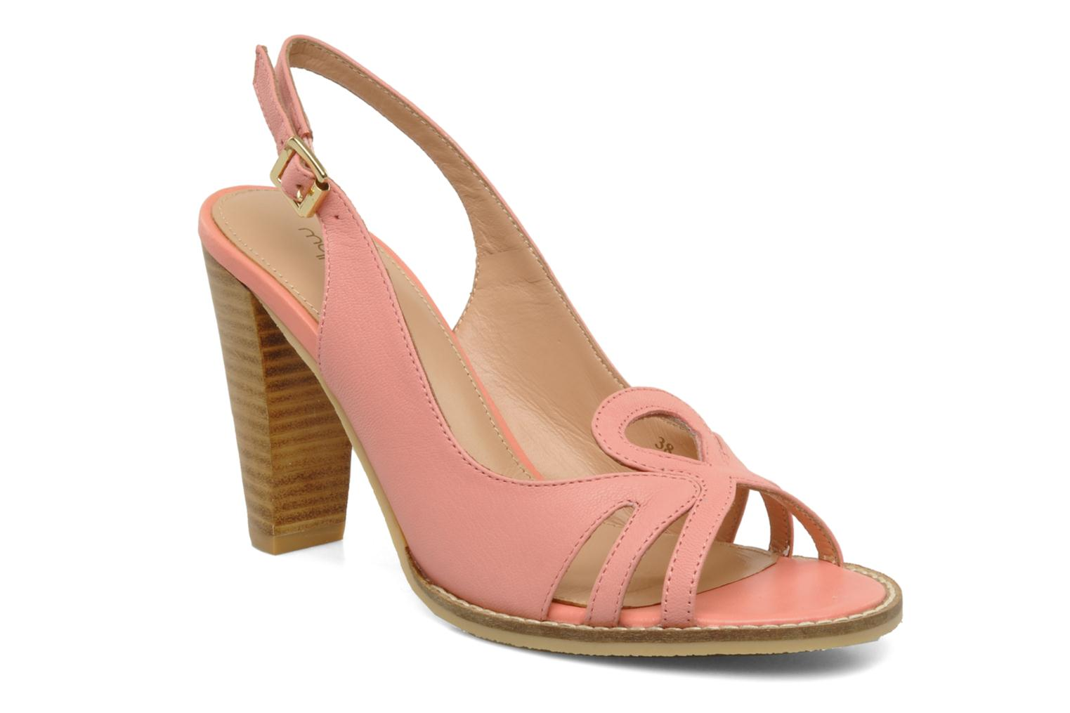 Sandals Mellow Yellow Lastou Pink detailed view/ Pair view