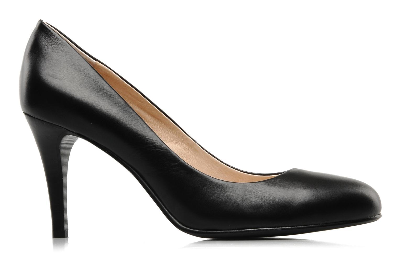 High heels Mellow Yellow Lescarpin Black back view