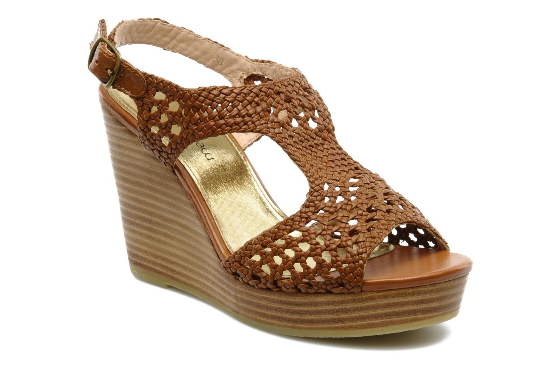 Sandales et nu-pieds Mellow Yellow Lexic Marron vue détail/paire