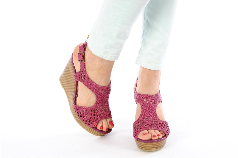 Sandales et nu-pieds Mellow Yellow Lexic Rose vue bas / vue portée sac