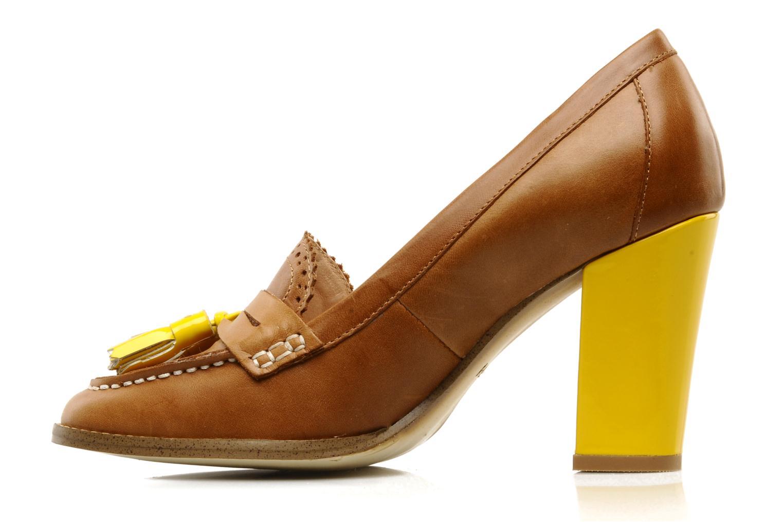 Mocasines Mellow Yellow Lola Marrón vista de frente