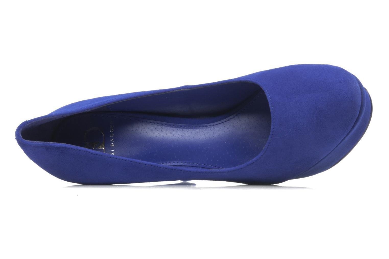 Zapatos de tacón Kelsi Dagger Abrielle Azul vista lateral izquierda