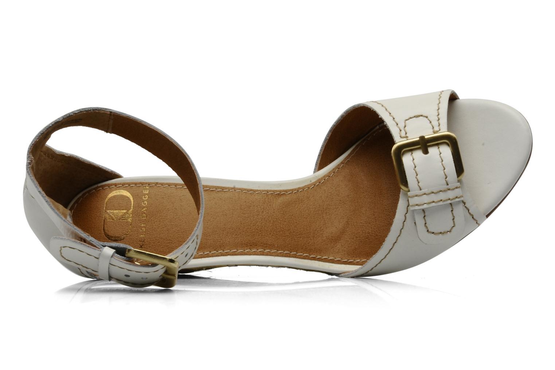 Sandales et nu-pieds Kelsi Dagger Gemini Blanc vue gauche