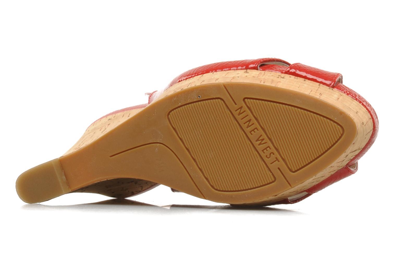 Sandales et nu-pieds Nine West Laffnplay 3 Rouge vue haut