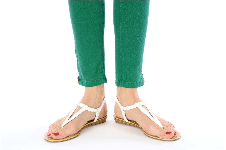 Sandales et nu-pieds Nine West Weightless 3 Jaune vue bas / vue portée sac