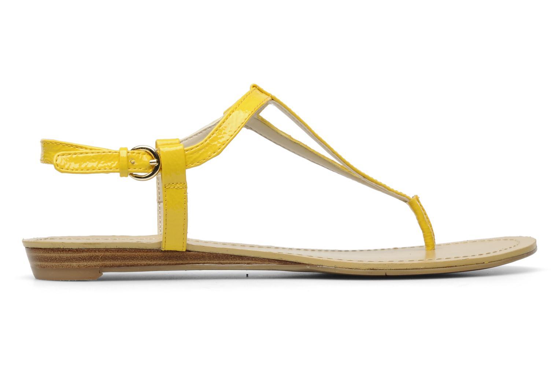 Sandales et nu-pieds Nine West Weightless 3 Jaune vue derrière