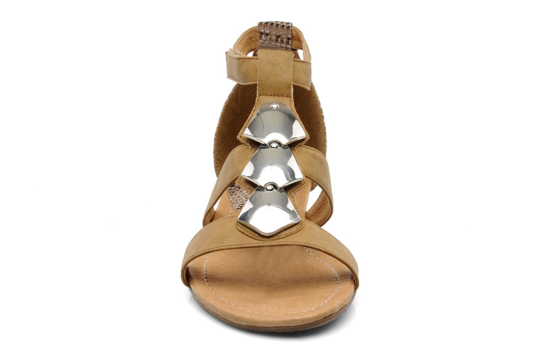 Sandalen Madison Rimon braun schuhe getragen