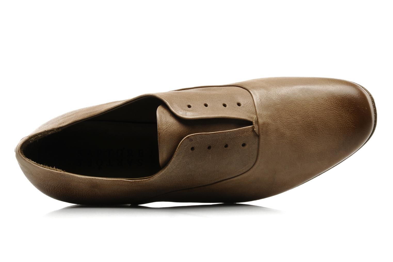 Chaussures à lacets Sartore Saber Marron vue gauche