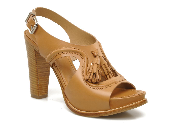 Sandales et nu-pieds Sartore Sariel Beige vue détail/paire