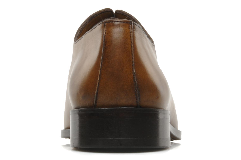 Chaussures à lacets Brett & Sons Lou Marron vue droite