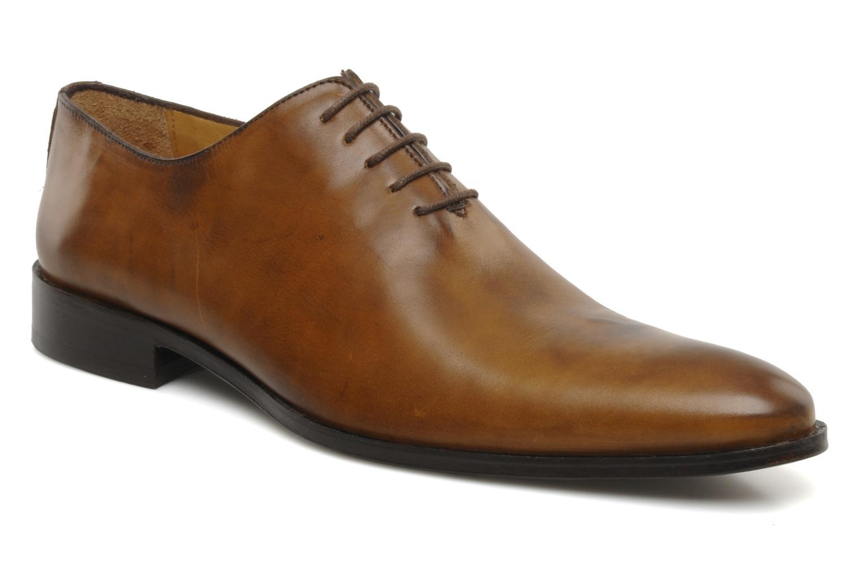 Chaussures à lacets Brett & Sons Lou Marron vue détail/paire