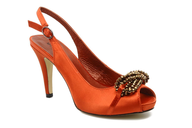 Sandalen Menbur Grusonii Oranje detail