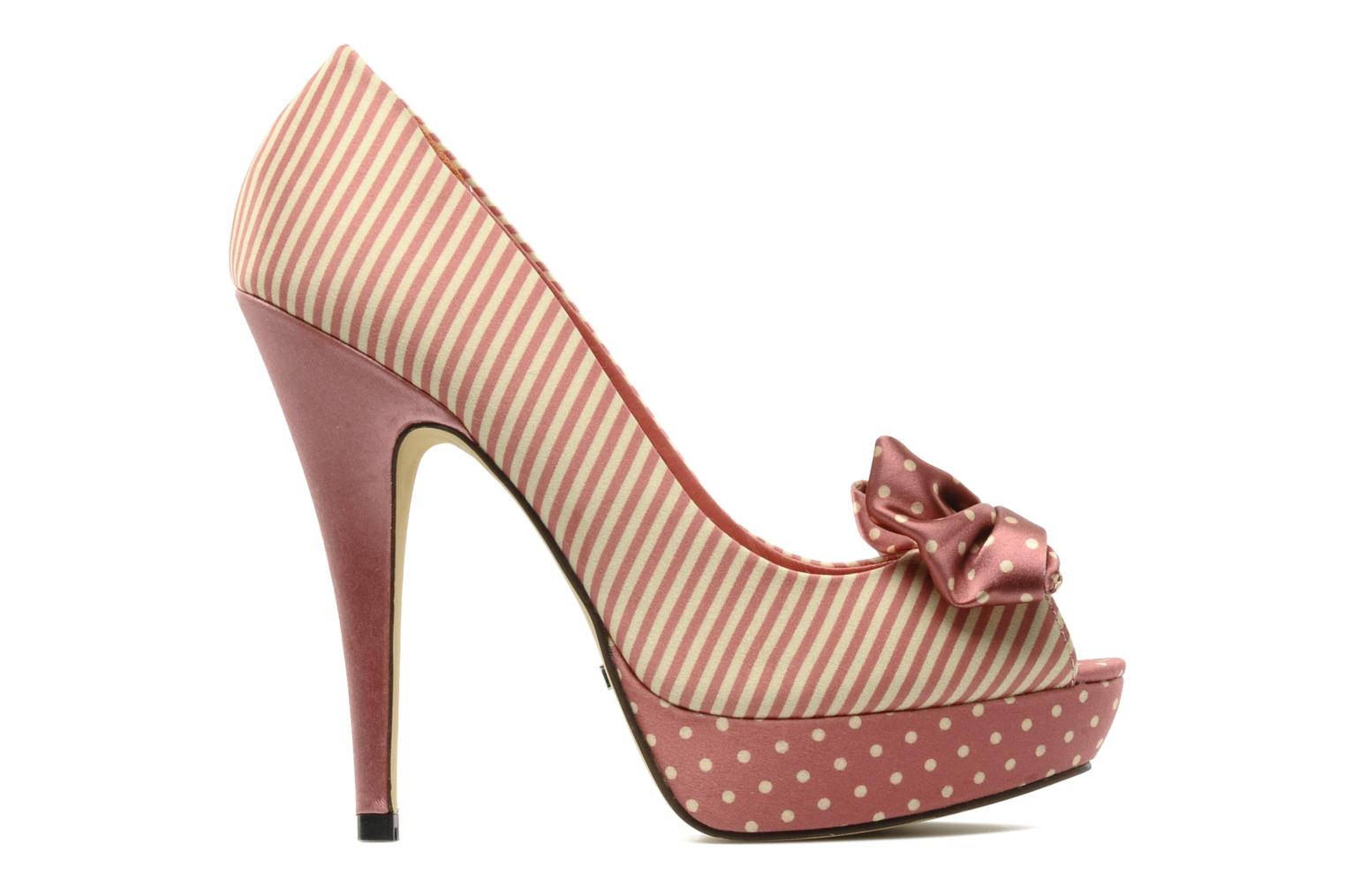 High heels Menbur Pisum Ot Pink back view