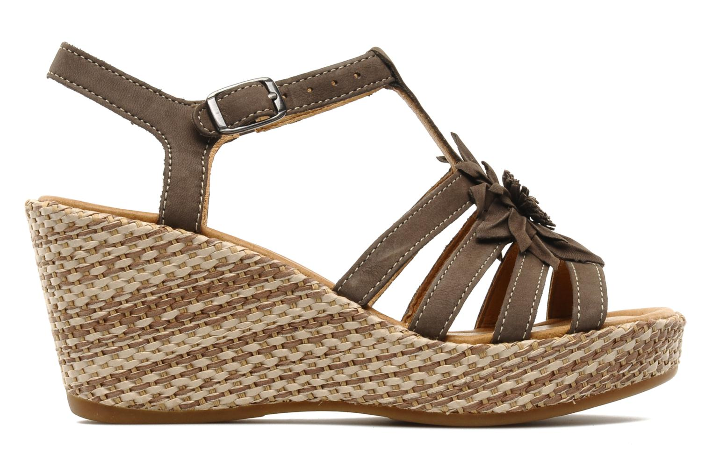 Sandales et nu-pieds Gabor Diana Marron vue derrière
