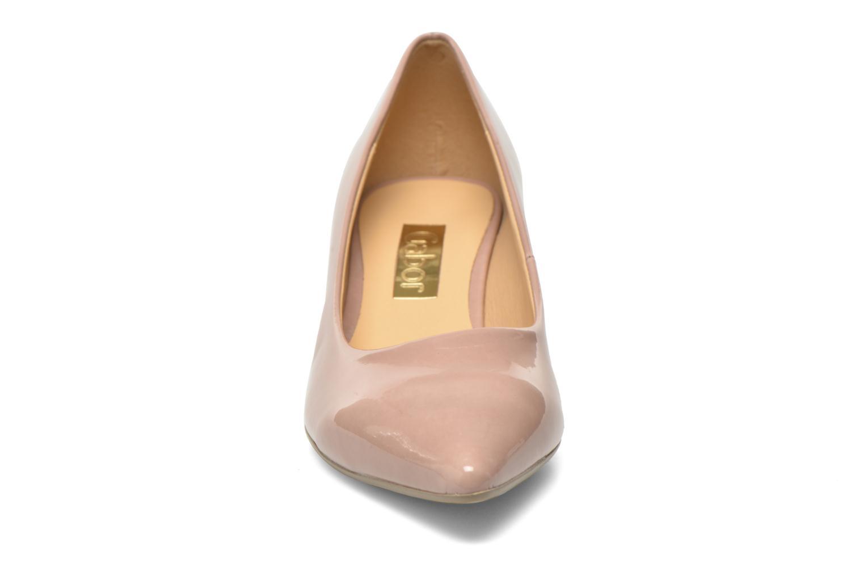 Escarpins Gabor Emilie Beige vue portées chaussures