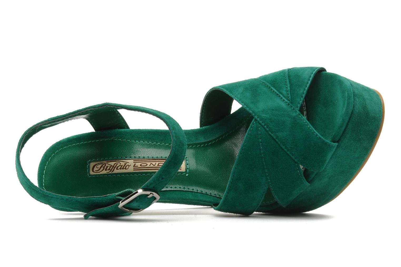 Sandali e scarpe aperte Buffalo Lizy Verde immagine sinistra
