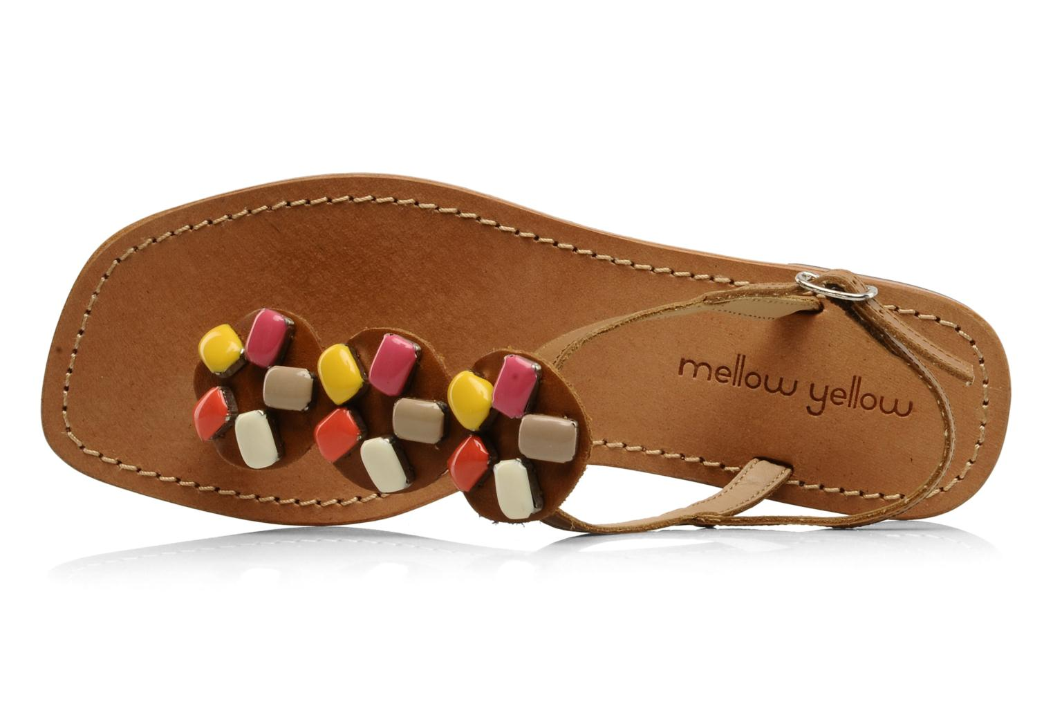 Sandals Mellow Yellow Lapi Brown view from the left