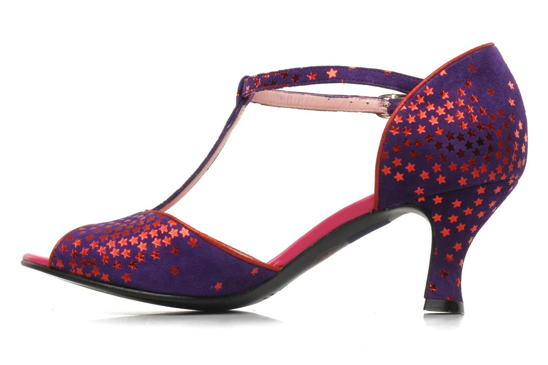 Sandales et nu-pieds Annabel Winship Hambug Violet vue face