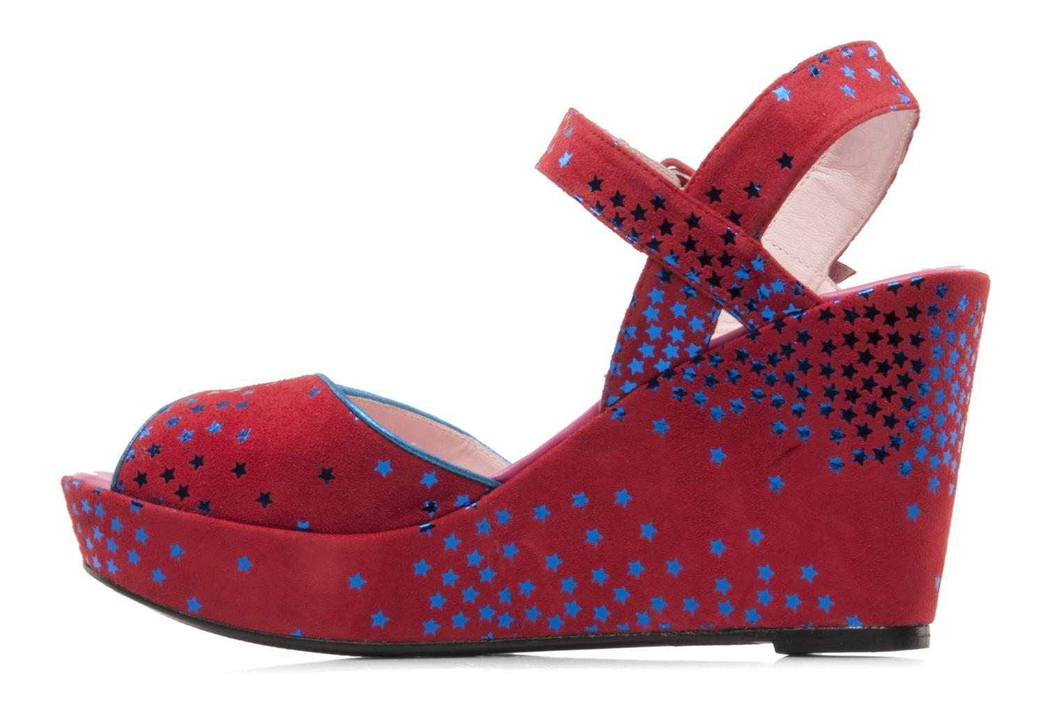 Sandals Annabel Winship Jodie Red front view