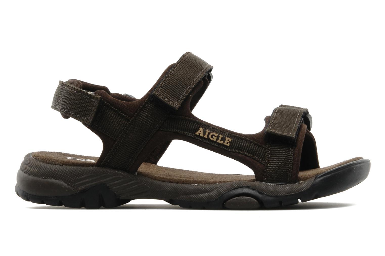 Sportschoenen Aigle Broadstone Kid Bruin achterkant