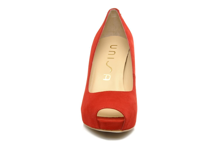 High heels Unisa Siro ks Red model view
