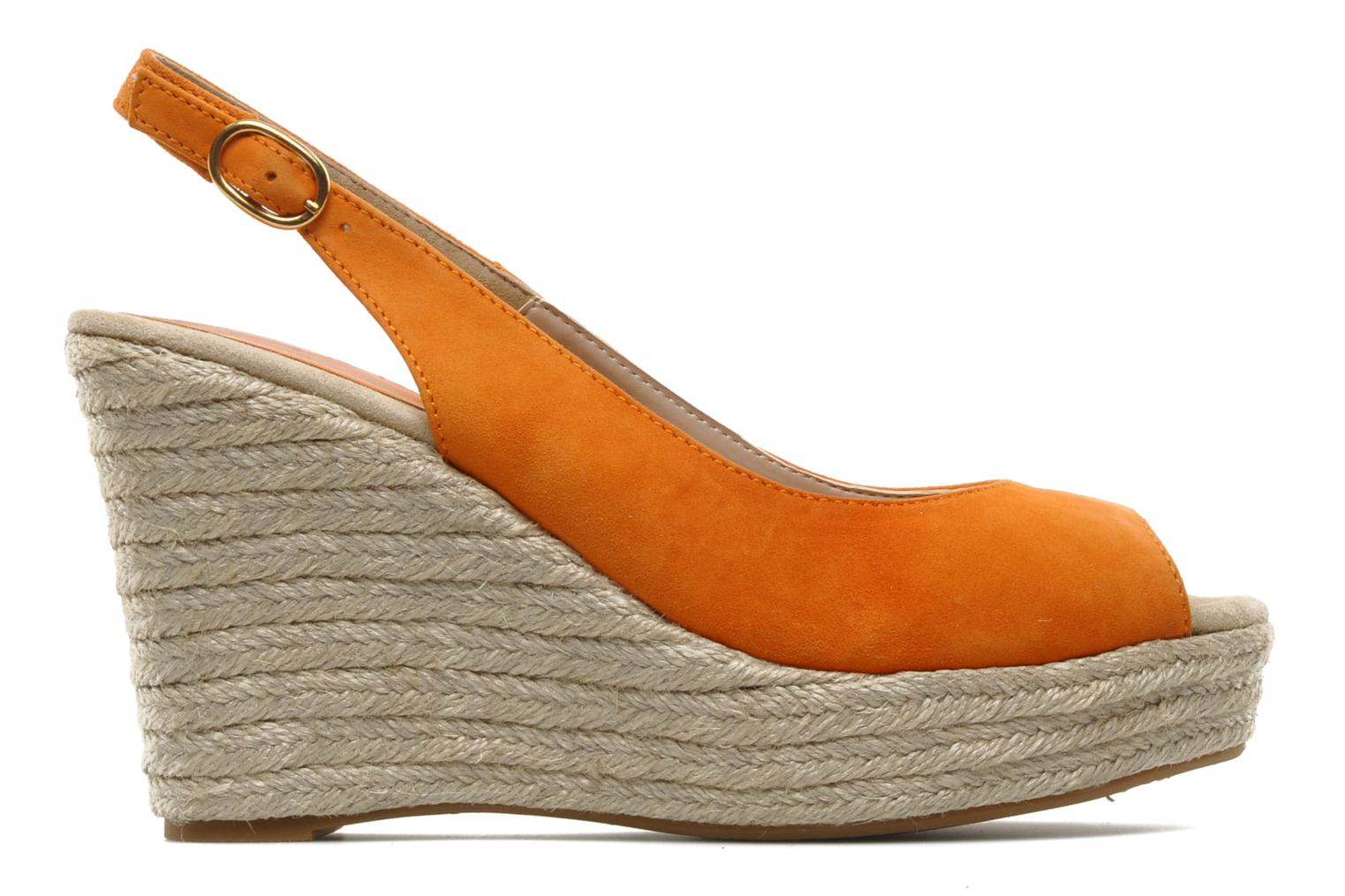 Sandals Unisa Merin ks Orange back view