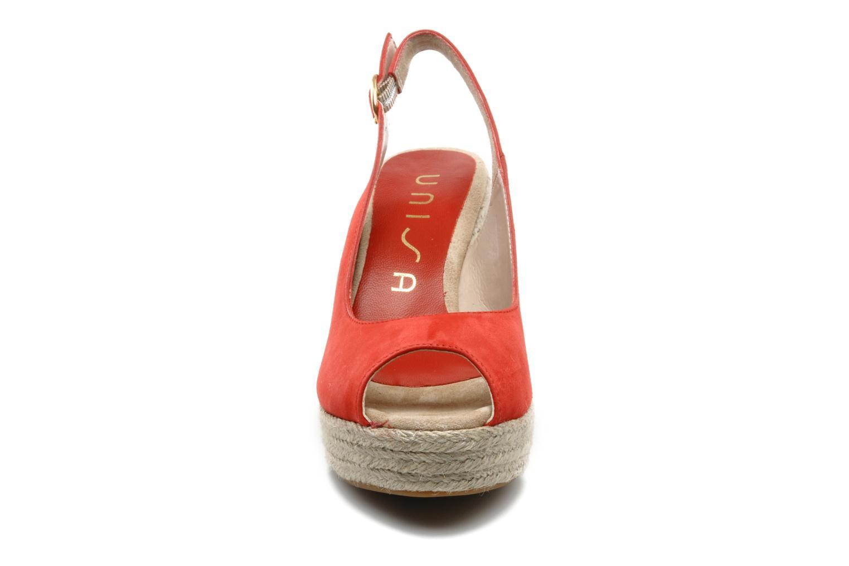 Sandals Unisa Merin ks Red model view