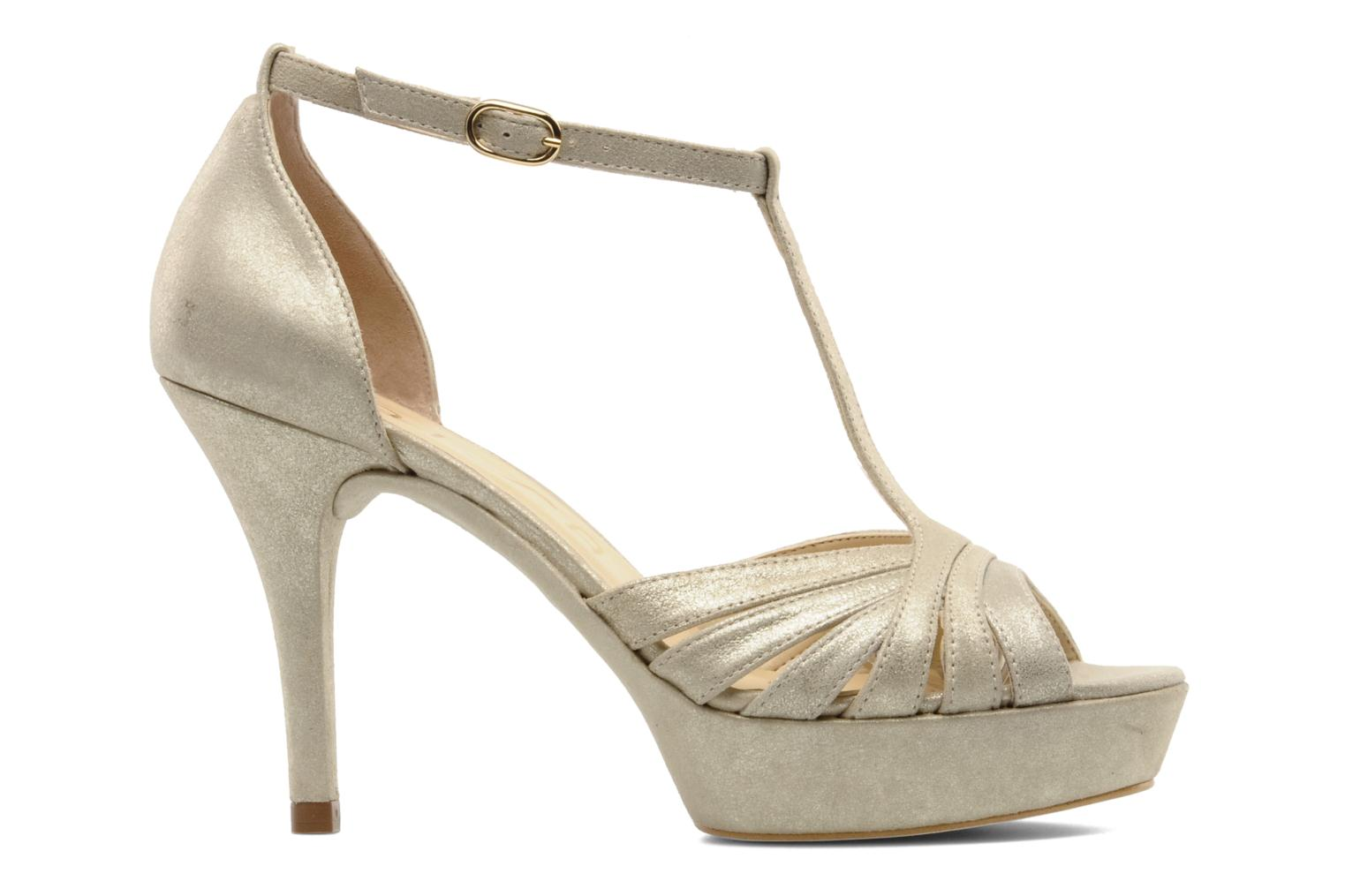 Sandals Unisa Varike ms Bronze and Gold back view