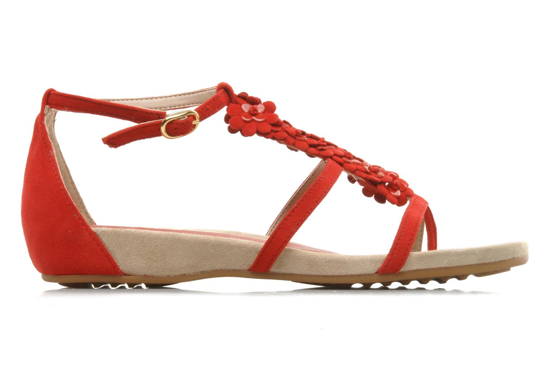 Sandals Unisa Afiles ks Red back view