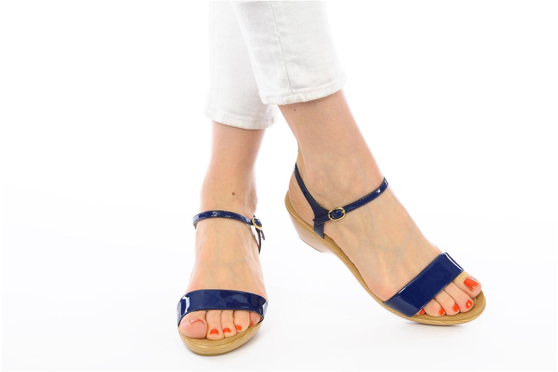 Sandals Unisa Irita ve Blue view from underneath / model view
