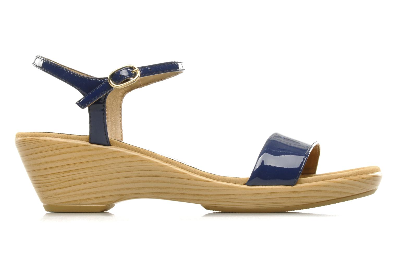 Sandals Unisa Irita ve Blue back view