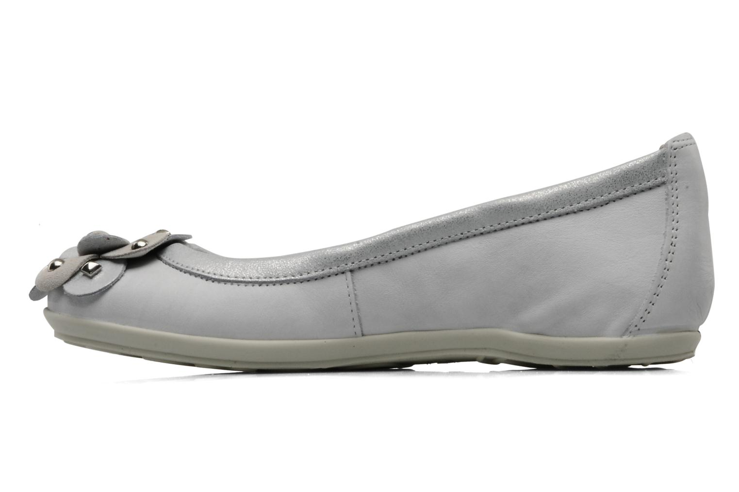 Ballet pumps Rose & Martin HARMONY Grey front view