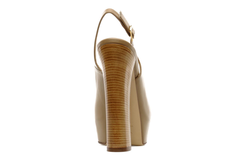 Sandales et nu-pieds Vicini Vinciane Marron vue droite