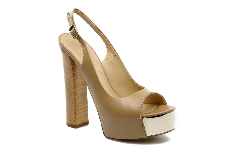 Sandales et nu-pieds Vicini Vinciane Marron vue détail/paire